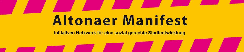 Banner Altonaer Manifest